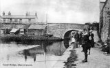 Montgomery Canal, Bridge at Llanymynech
