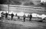 River Parrett, Bridgwater, unloading a trow