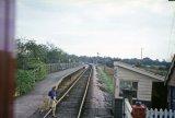 Ashcott Railway Station c1965