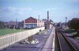 Bason Bridge Railway Station c1962