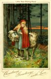Tuck Series 1713, Little Red Riding Hood