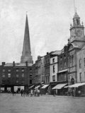 Hereford, High Town c1860