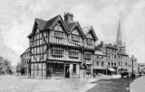 Hereford, High Town, Old House c1860