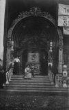 Fairground Ride Entrance c.1910 MD
