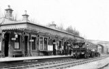 Stainland Railway Station & railmotor L&YR JR