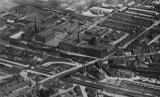 Castleton Railway Station, Rochdale, aerial view
