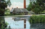 Desborough, watermill colour