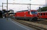 RhB No 645 at Chur on 24.9.1997