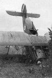 Bristol F2B C9837 Crash A c1920s
