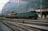Nos 205 & 10976 at Erstfeld on 28.9.1997