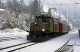 RhB No 415 at Filisur on 17.2.1994