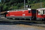 RhB No 648 at Filisur on 24.9.1997