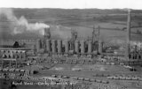 Corby Steel Works B. Furnaces, aerial view