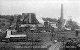 Oakdale Colliery A, sidings