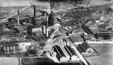 Prince of Wales Colliery, Pontefract, aerial vw