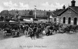 Clitheroe Railway Station, milk despatch