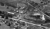 Baddesley Collieries aerial view