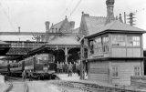 Lancaster North Railway Station, MR electric train JR