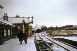 Showing level crossing in snow of 2.1963