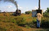 Cuba Railways, No 1414 cane fields 6.96