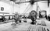 Askern Main Colliery, Fitting Shop c 1913 JR