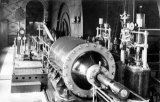 Left hand engine of No 1 Down cast shaft winding engines at Cadeby Main