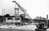 Frickley Colliery, construction crane JR