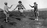 Scilly Isles skipping in the 1930s CMc.jpg