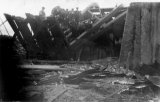 Lancashire Mining Princess Pit Haydock Headgear demolished 8 August 1924 CMc.jpg
