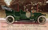 Motoring vintage Lawton Mercedes and Panhard cars c1910 CMc.jpg