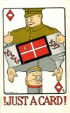 World War One Just a Card playing card greetings postcard CMc.jpg