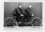 Tandem bicycle c1910 CMc.jpg
