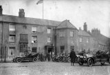 Yorkshire Selby Londesborough Arms Military HQ General Staff c1915 CMc.jpg