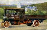 Aberdeenshire Braemar Royalty The Kings Foden Steam Lorry Balmoral Castle c1920 CMc.jpg