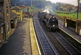 Wilton (SR) station, S15 Class No 30843 2.8.63