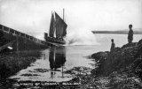 Amlwch, Bull Bay lifeboat launch c1910.jpg