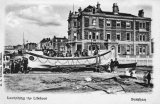 Burnham on Sea, launching lifeboat c1900.jpg